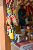Set of traditional hand made shoes. Set of traditional hand made Yemeni shoes Stock Photography