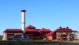 Set tradycyjni Orientalni budynki Obrazy Royalty Free
