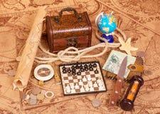 Set for the traveler Stock Photo
