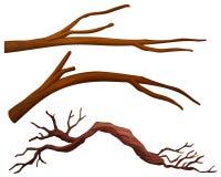 A set of tree branch. Illustration royalty free illustration