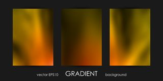 Set of Trendy Gradient Backgrounds for Cover, Flyer, Brochure, Poster, Wedding Invitation, Wallpaper, Backdrop. Stock Photography