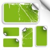 Set of trendy sticker Stock Images