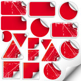 Set of trendy sticker vector illustration