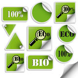 Set of trendy sticker. Vector illustration royalty free illustration