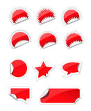Set of trendy sticker Stock Photos