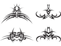 Set Tribal tattoo Royalty Free Stock Photos