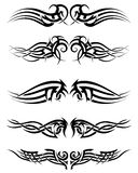 Set tribal tattoos Royalty Free Stock Photos