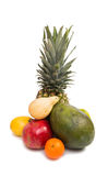 set of tropical fruit Royalty Free Stock Photography