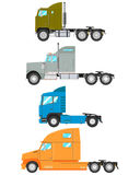 Set trucks Stock Image