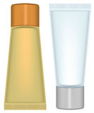 Set tube cosmetics Stock Photo