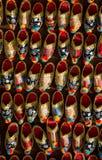 Set turecki Osmański rzemienny kapeć w bazarze Obrazy Stock