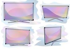 Set of tv Stock Photos