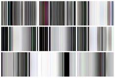Set TV hałas ilustracja wektor
