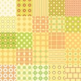 Set of twenty-five seamless texture. Set of twenty five simple seamless texture, vector illustration stock illustration