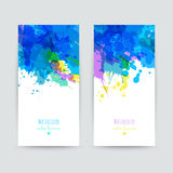 Set of two brochures. Royalty Free Stock Images