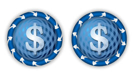 Set two icons Royalty Free Stock Images