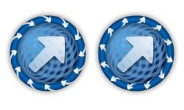 Set two icons Stock Photo
