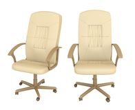 Set of two office armchairs Royalty Free Stock Photography