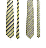 Set of two ties Royalty Free Stock Image