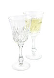 Set from two wine glasses Stock Photography