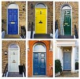 English doors Stock Image