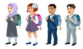 Set uczeń Obrazy Stock