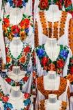 Set Ukraiński obywatel odziewa fotografia stock