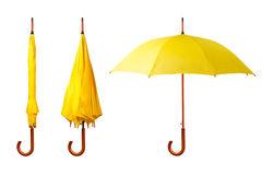 Set of umbrellas Royalty Free Stock Photos