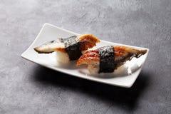 Set of unagi sushi Royalty Free Stock Photo