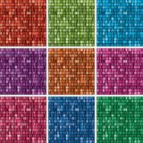set of 2304 unique rainbow colors gradient backgrounds. vector  Stock Photography