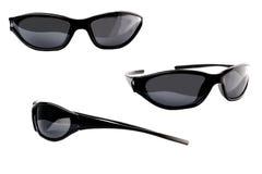 Set of unisex solar glasses Royalty Free Stock Photos