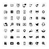 Set of 49 Universal Icons. Business, internet, web design. Set of 49 Universal Icons. Simple Flat Style. Business, internet, web design Vector Illustration