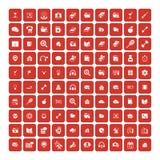 Set of 100 Universal Icons. Business, internet, web design. Set of 100 Universal Icons. Simple Flat Style. Business, internet, web design, random pictogram vector illustration