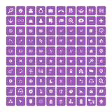Set of 100 Universal Icons. Business, internet, web design. Stock Images