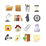 Set of universal web icons Stock Photo