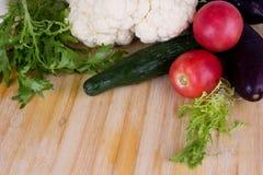 Set unterschiedliches Gemüse stockfoto