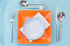 Set up breakfast Royalty Free Stock Images