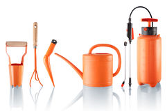 Set of useful gardening tools Stock Images