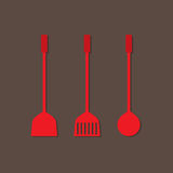 Set Of Utensils Royalty Free Stock Photo