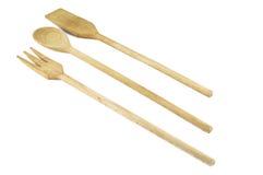 set utensils för kök Arkivbild