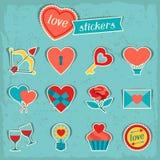 Set of Valentine's and Wedding icons, design Stock Photo