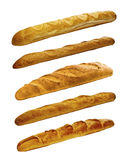 Set of various breads and pastry products Royalty Free Stock Photo