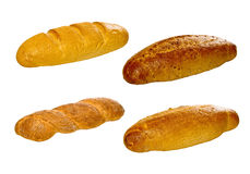 Set of various breads and pastry products Stock Photo