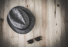 Set of various clothes and accessories for men Stock Images
