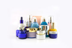 Set of various cosmetics Royalty Free Stock Photos