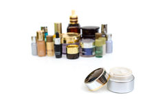 Set of various cosmetics for skin care Stock Photography