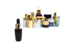 Set of various cosmetics for skin care Royalty Free Stock Images