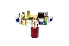 Set of various cosmetics for skin care Royalty Free Stock Photos