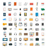 Set of various financial service items Royalty Free Stock Photography