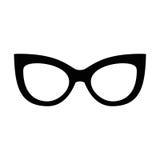 Set of various glasses. Stylish sunglasses for women, men and children. Eye  collection. Vector illustration Stock Image